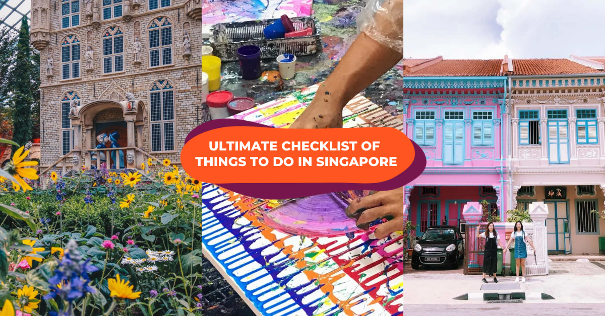 things to do in singapore checklist