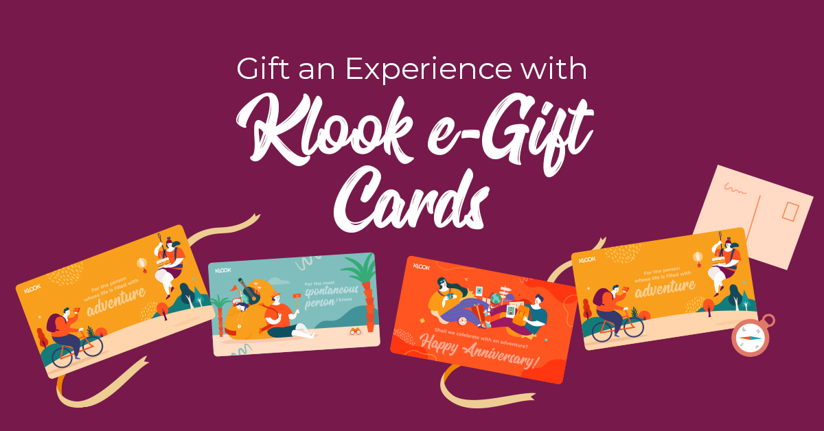 Gift An Experience With Klook S E Gift Cards Klook Travel Blog