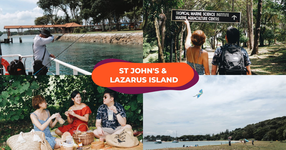 st john's island lazarus island singapore
