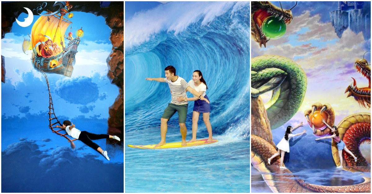Sống Ảo Tẹt Ga Ở Bảo Tàng Tranh 3D Art In Paradise Đà Nẵng - Klook Blog