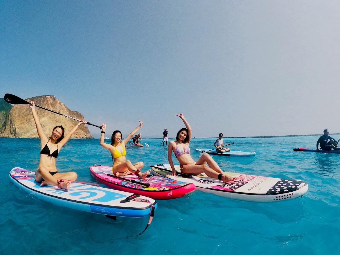 宜蘭 龜山島 牛奶海 帆船&遊艇&SUP體驗