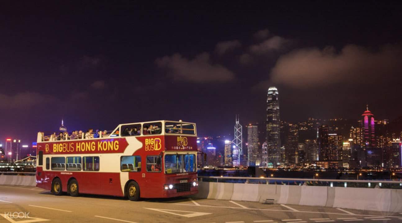 Hong Kong Big Bus Tour Ticket Discount Klook