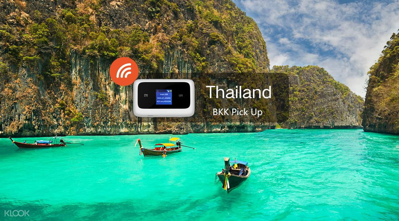 4G WiFi BKK Pick Up for Thailand Klook