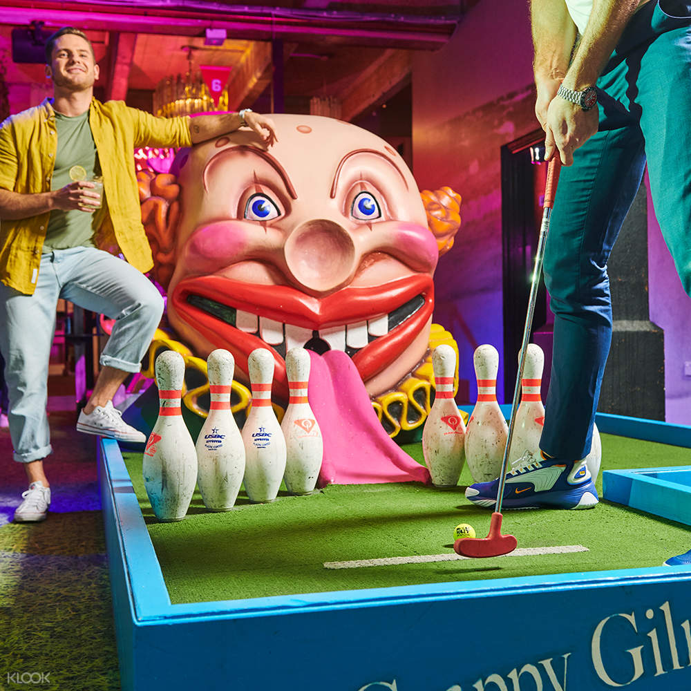 Holey Moley Golf Club Experience in Singapore