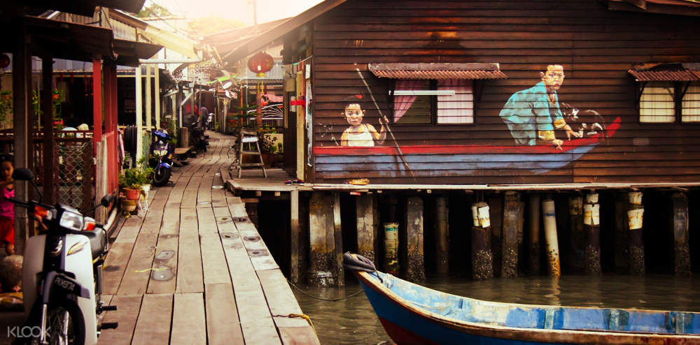 wooden houses in penang