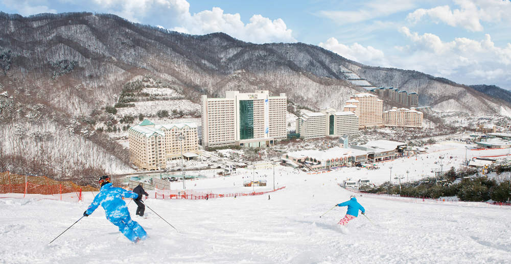 洪川大明 Vivaldi Park 滑雪票(含往返接駁巴士)