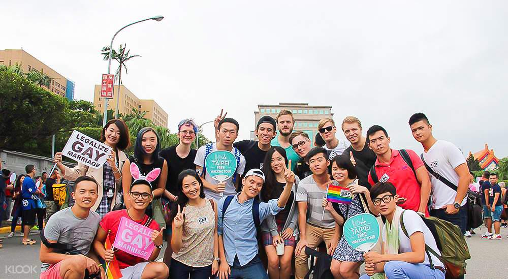 lgbt walking tour taipei
