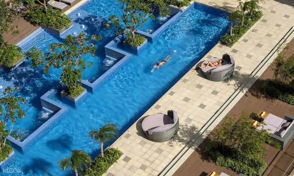 hồ nơi tại khách sạn InterContinental nha trang