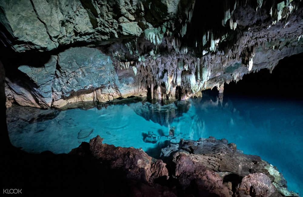 interior of rangko cave