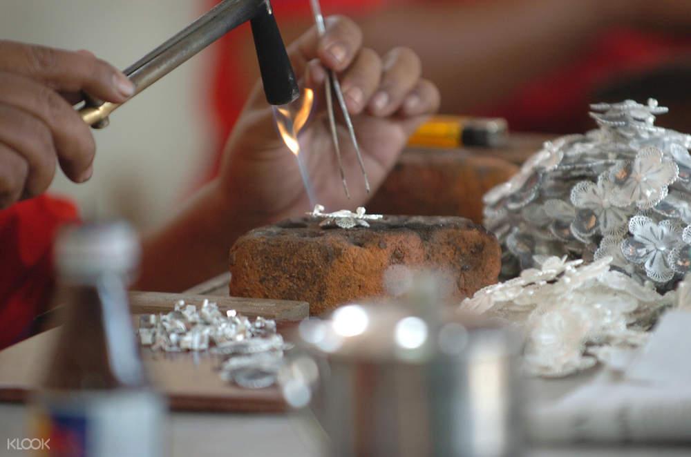 Silversmiting Workshop Yogakarta