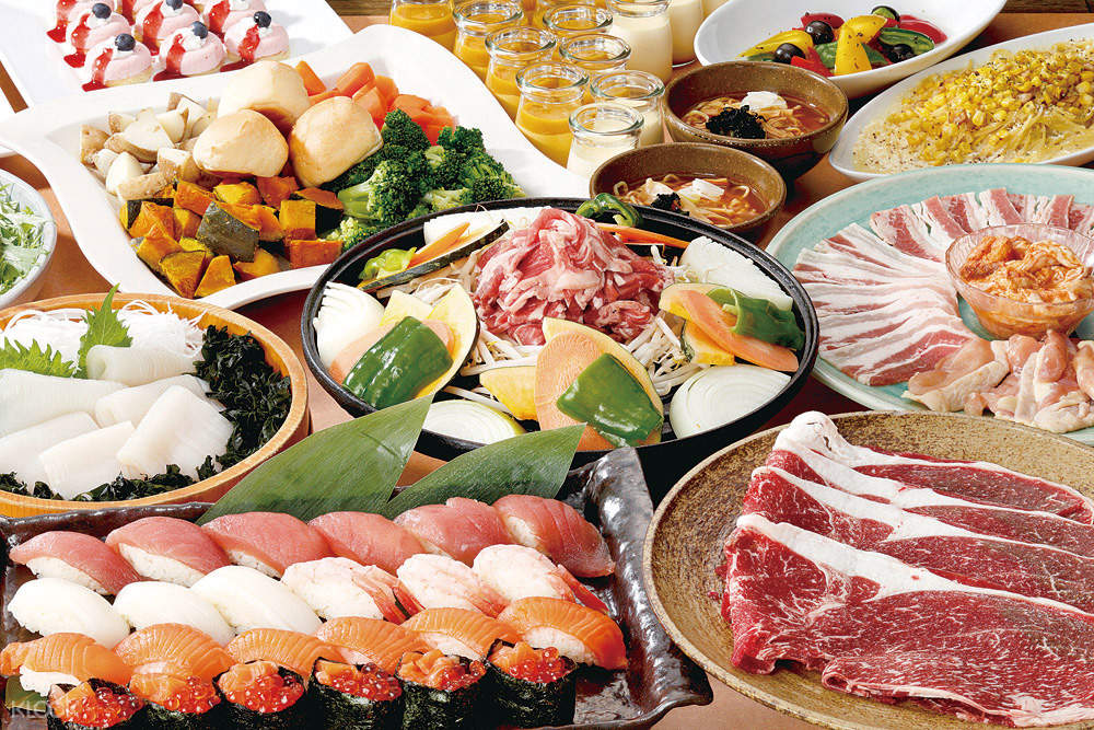 Otaru Unga Shokudo all you can eat buffet