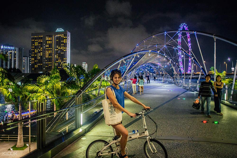 新加坡夜間騎行之旅