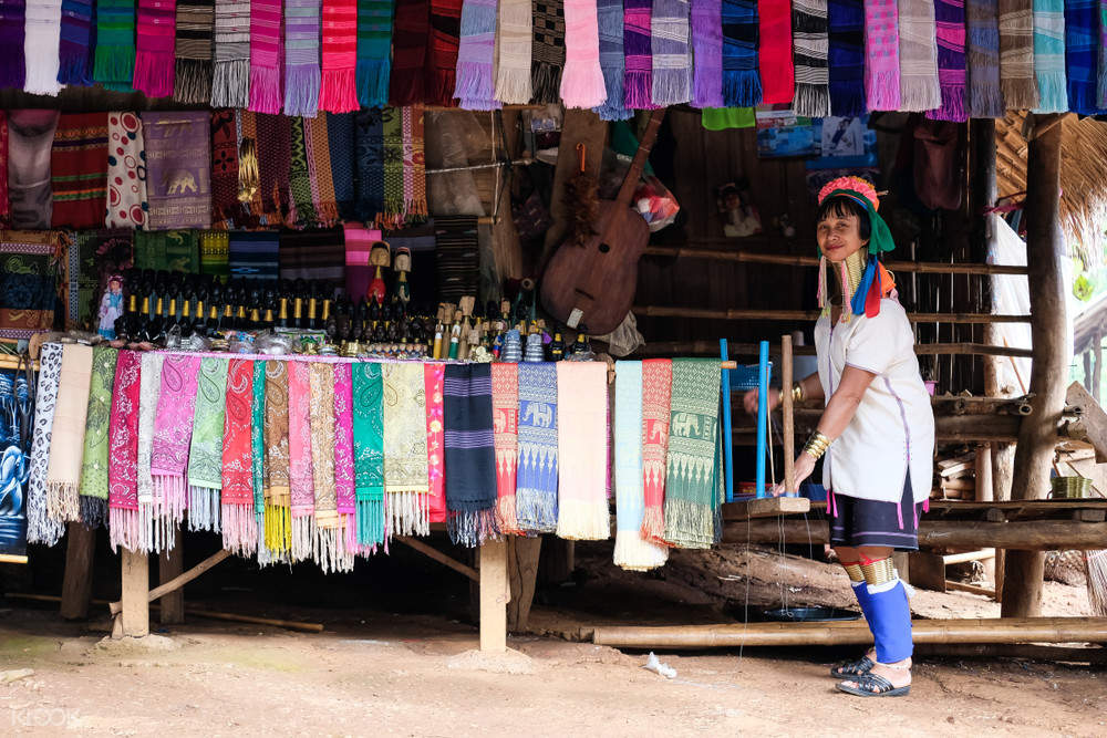 a villager in the Karen tribe