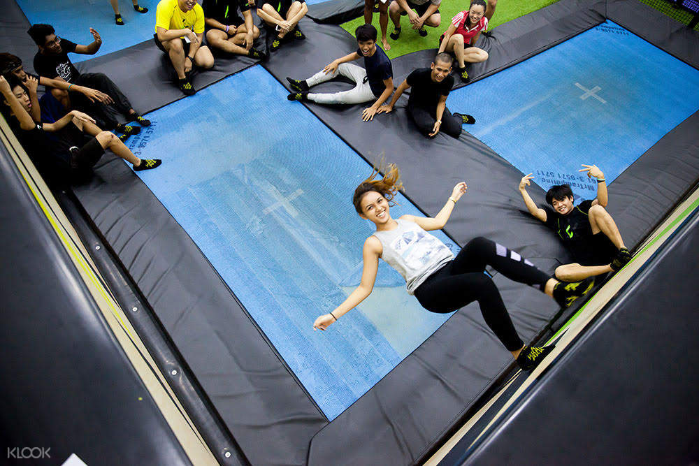 Katapult Trampoline Park is the best place to go for some fun, physical hangout!