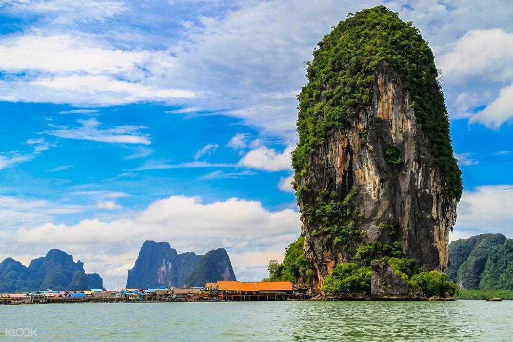 攀牙湾007岛皮划艇一日游(中文导游)