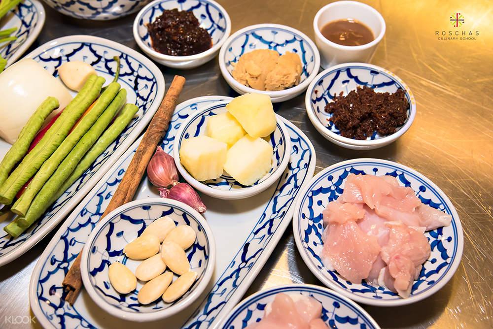 bahan-bahan untuk kelas memasak thailand