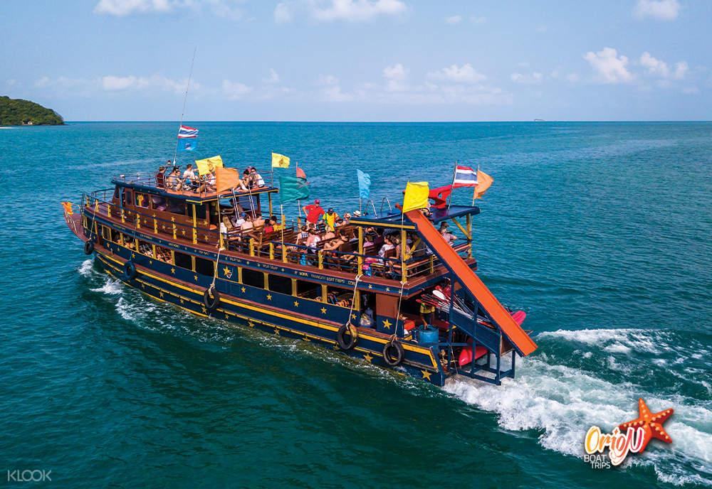 安通国家海洋公园岛屿一日游
