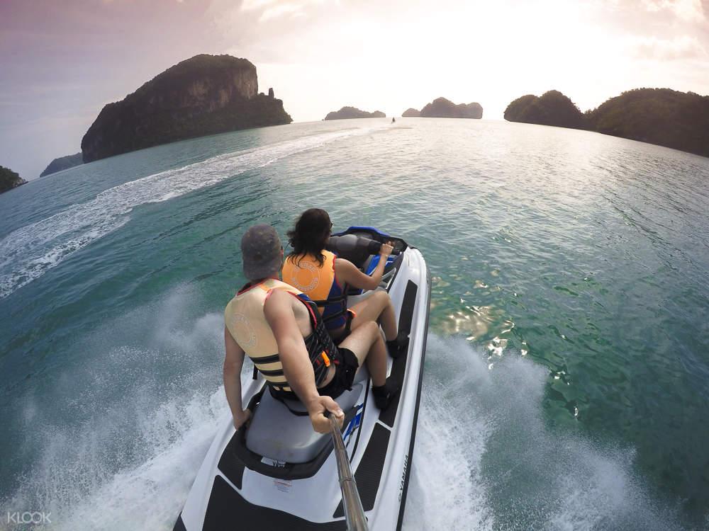 蘭卡威海上摩托艇騎行體驗