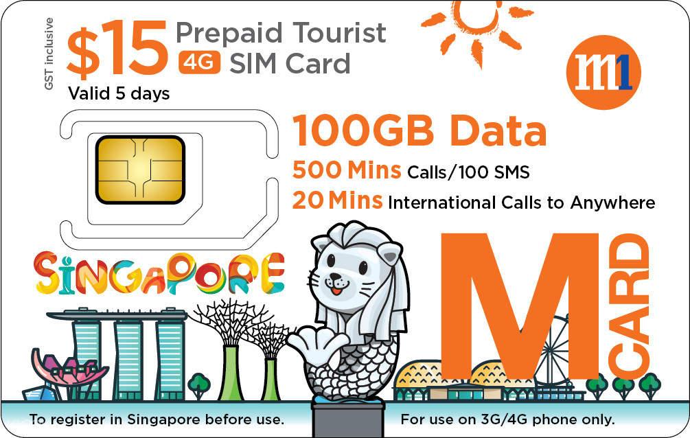 4G SIM Card (SG City Pick Up) for Singapore