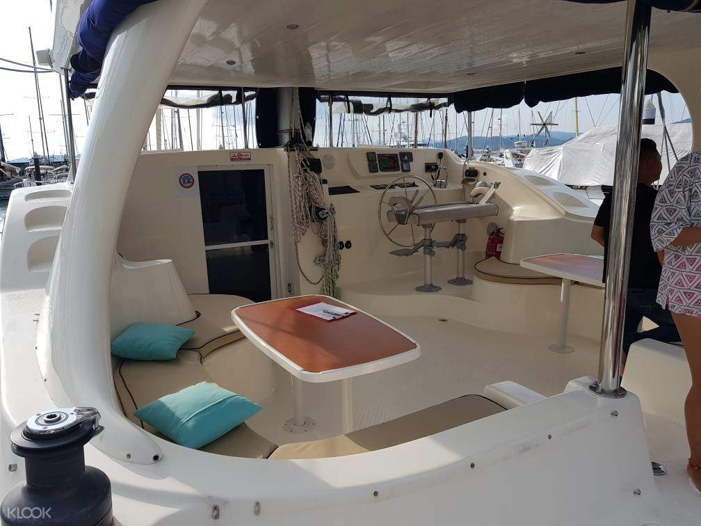 Langkawi luxury cruise yacht interior