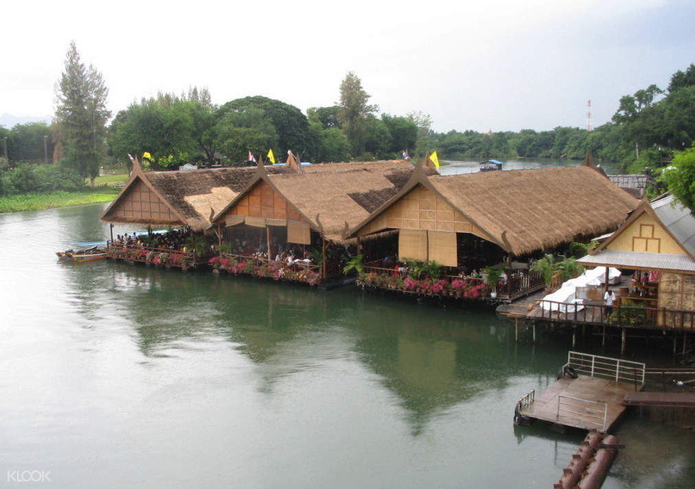 Restoran Apung Day Tour Pribadi Kanchanaburi Highlights