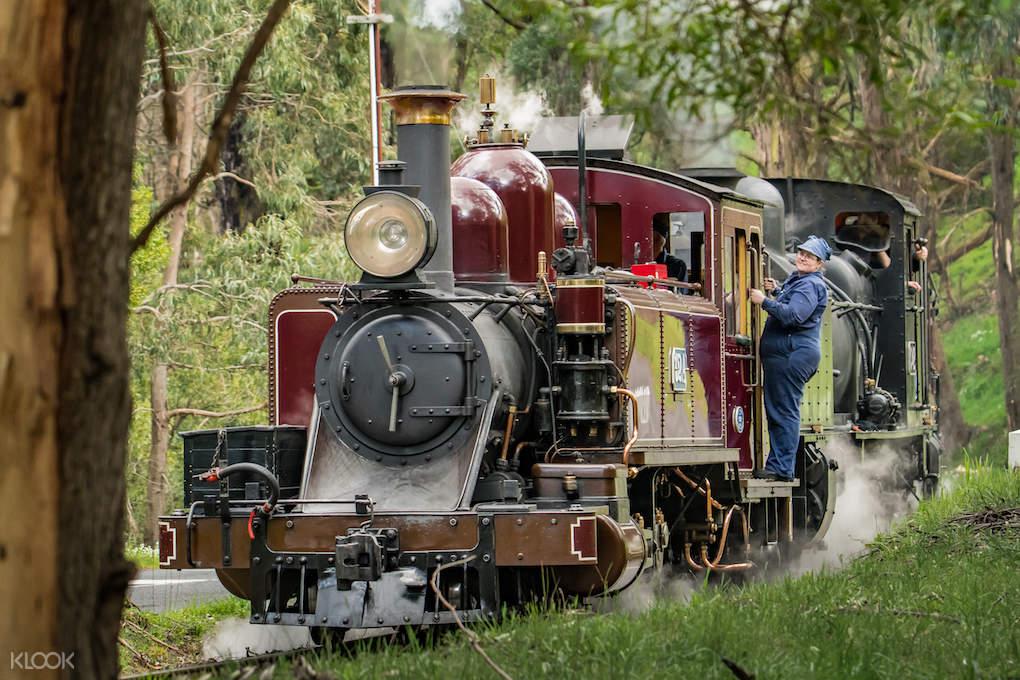 普芬比利蒸汽火車票