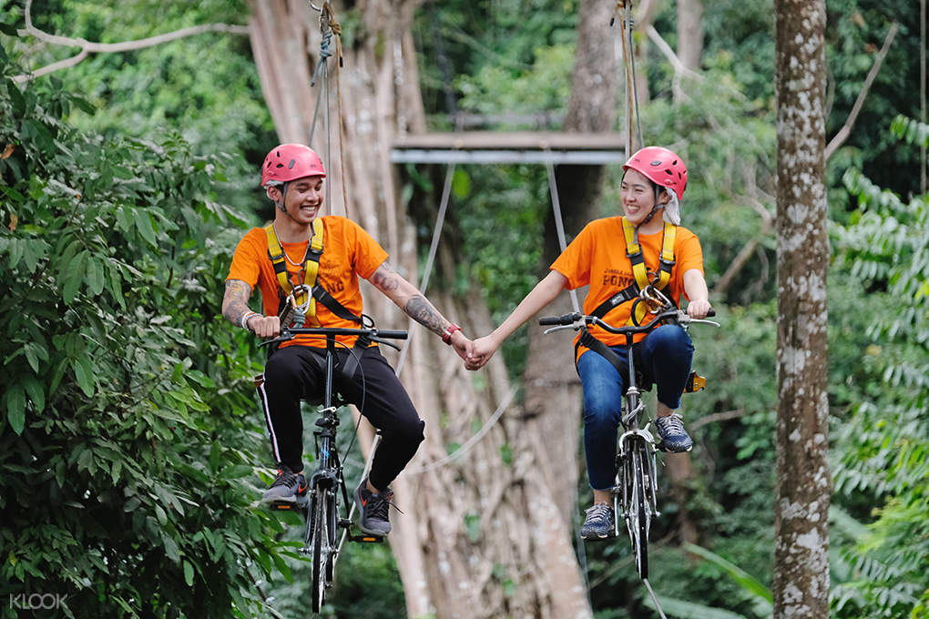 jungle bike in thailand