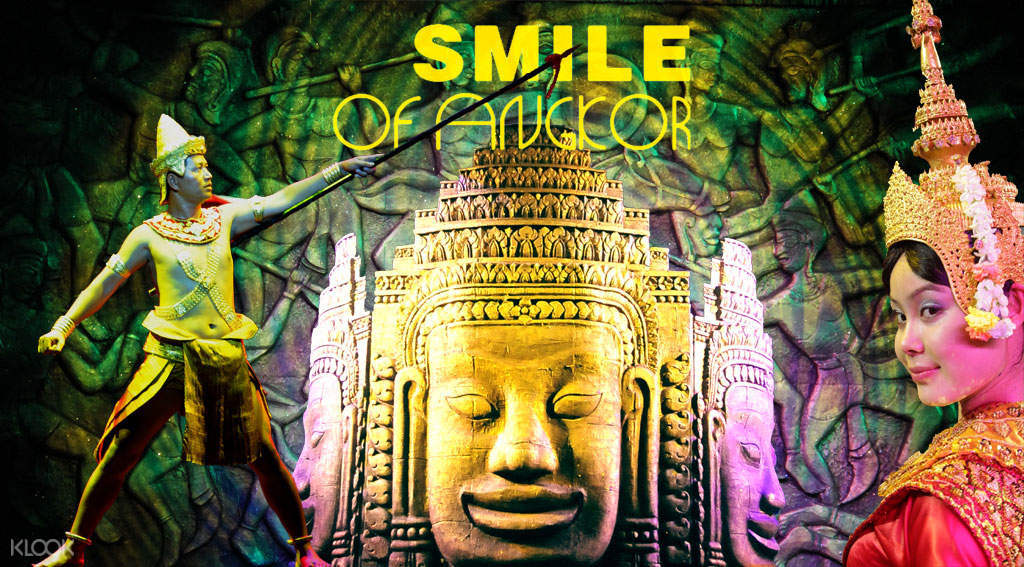 Smile of Angkor in Siem Reap