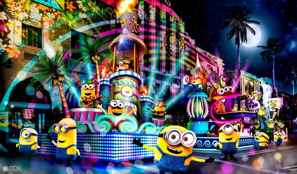Universal Spectacle Night Parade - Best of Hollywood