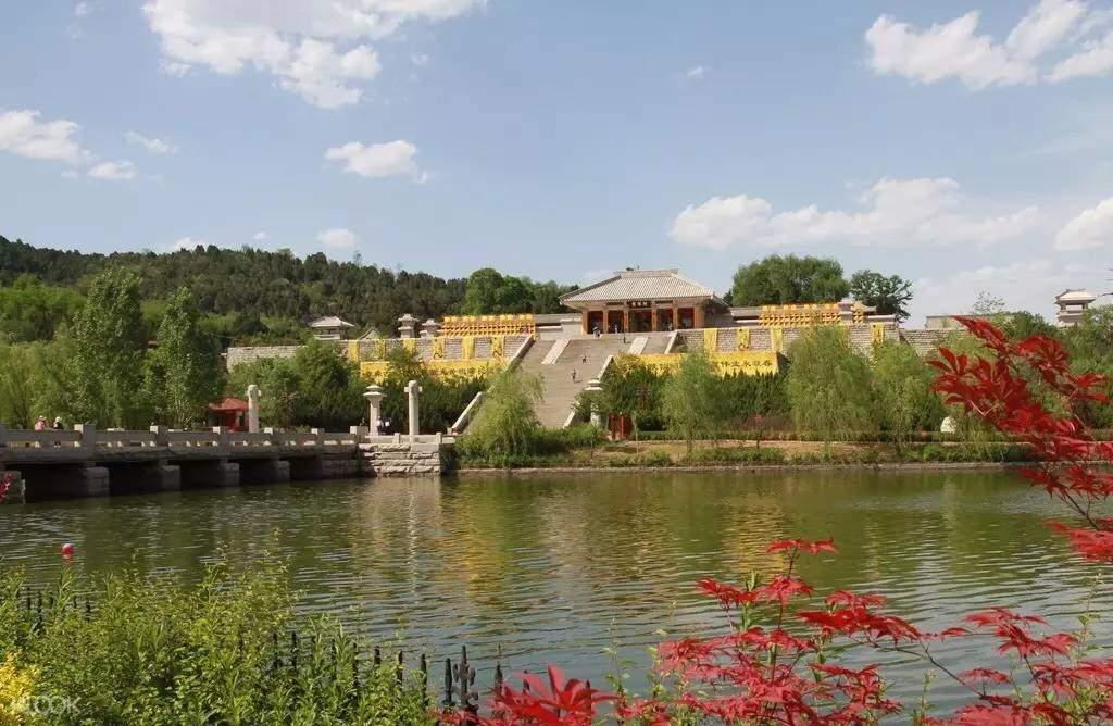 Huangdi (Yellow Emperor) Mausoleum Scenic Area