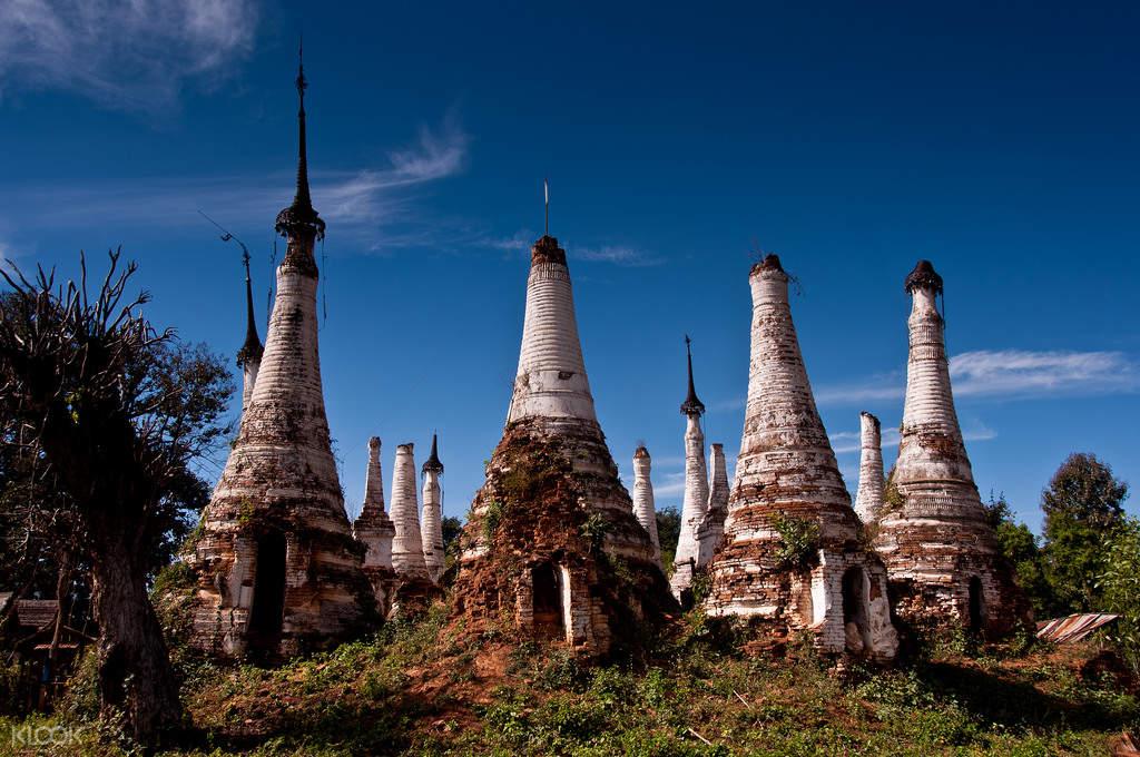 nyaung ohak pagodas indein village