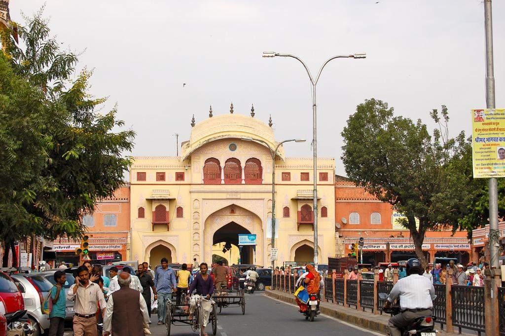 Tripolia temple gate
