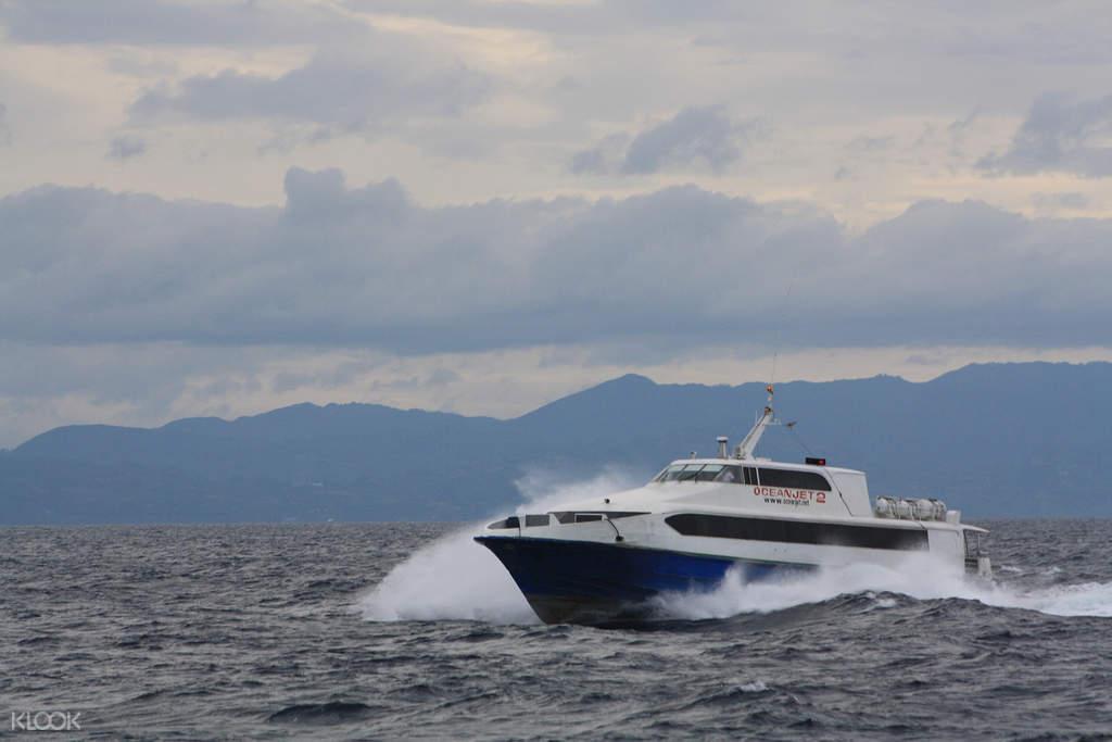 菲律 賓宿霧 - 薄荷島輪渡往返船票OceanJet