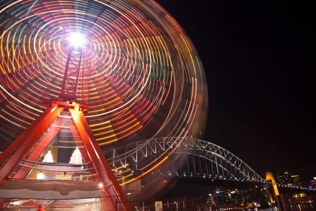 澳大利亚 缤纷悉尼灯光音乐节 & 海港大桥攀登体验