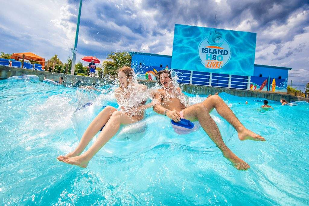 island h2o live wave pool