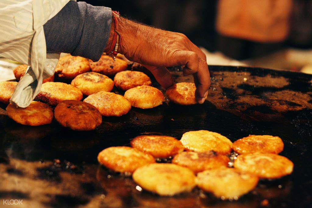 斋浦尔夜晚街头美食体验