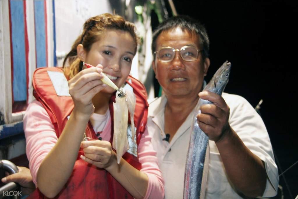 台北夜釣體驗