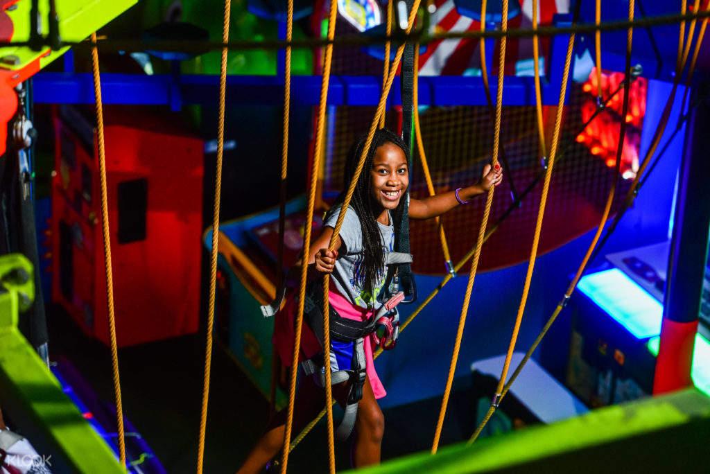 wonderworks Orlando ropes course