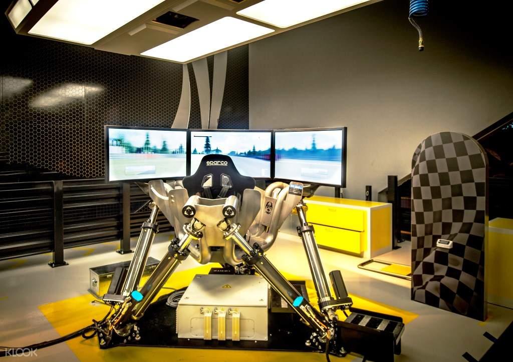 迪拜HUB ZERO VR主题游戏公园门票
