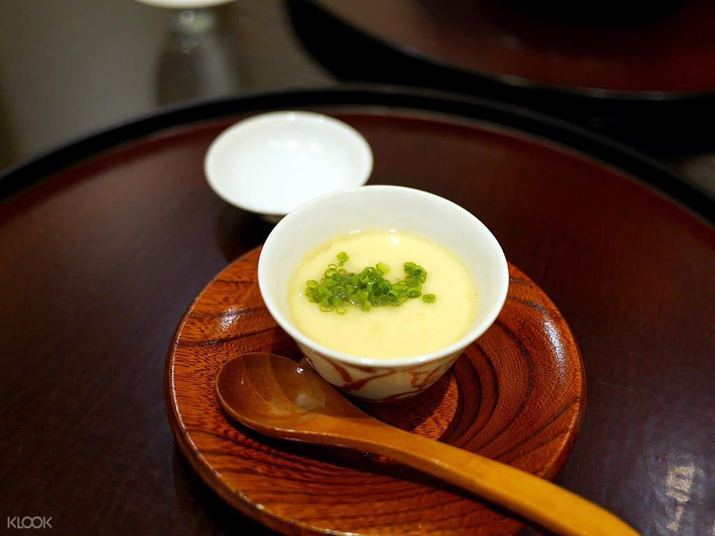 太月怀石料理茶碗蒸