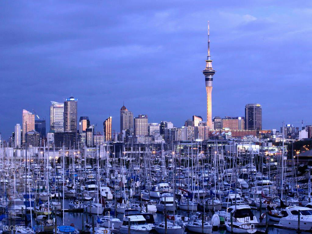 新西兰奥克兰天空塔
