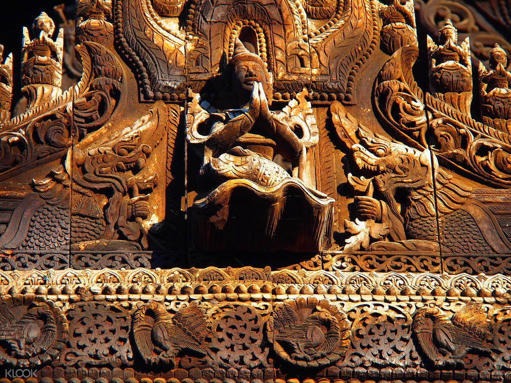 Shwenandaw Monastery Mandalay