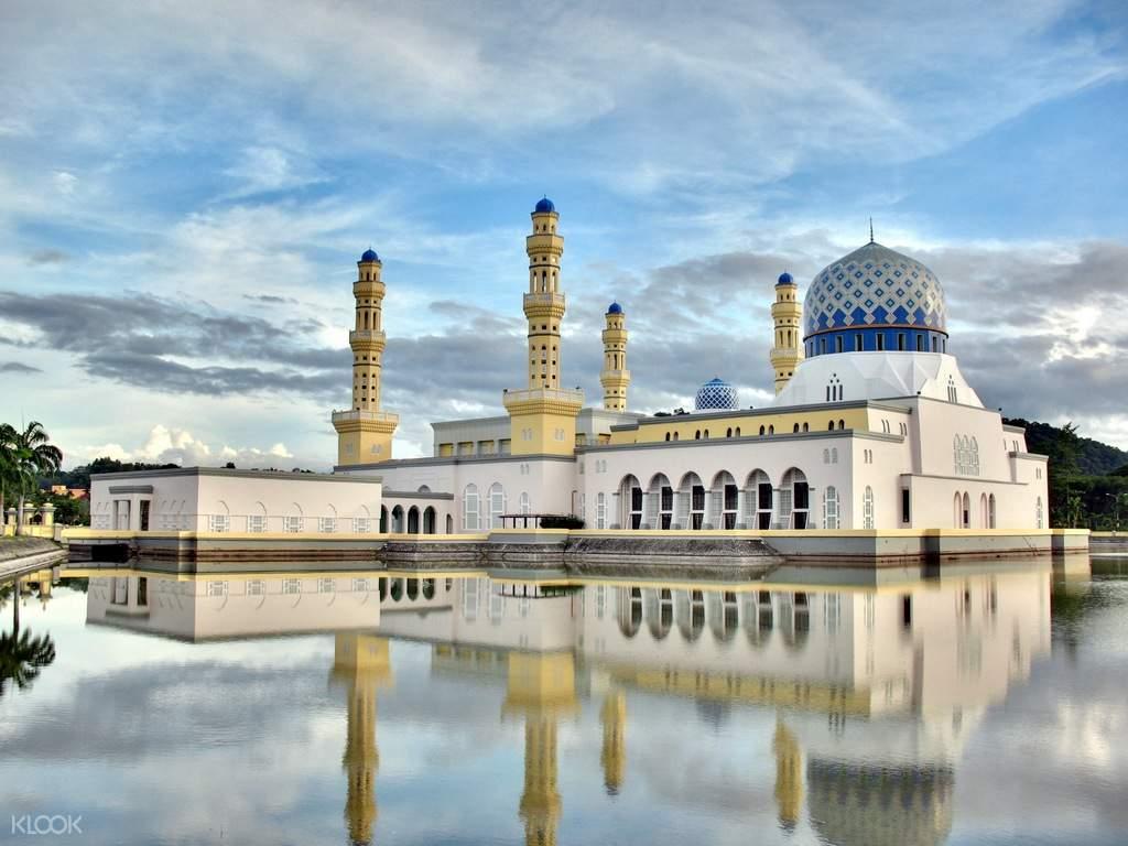 city mosque kota kinabalu half day tour sabah borneo