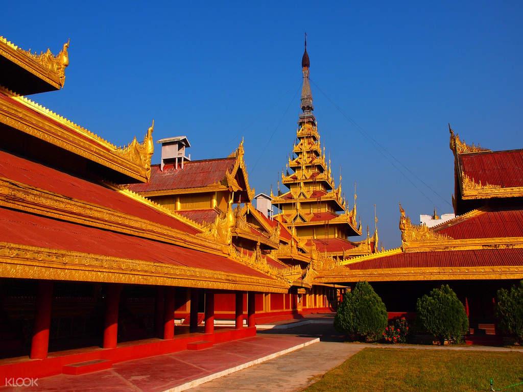 mandalay royal palace myanmar