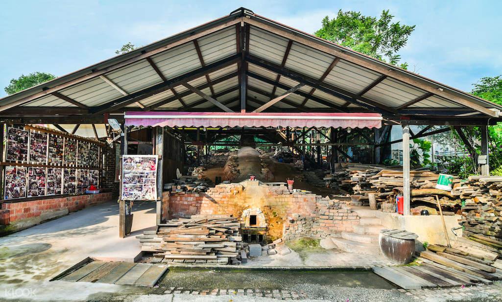 新加坡 龍窯 陶光工藝廠製陶課程體驗