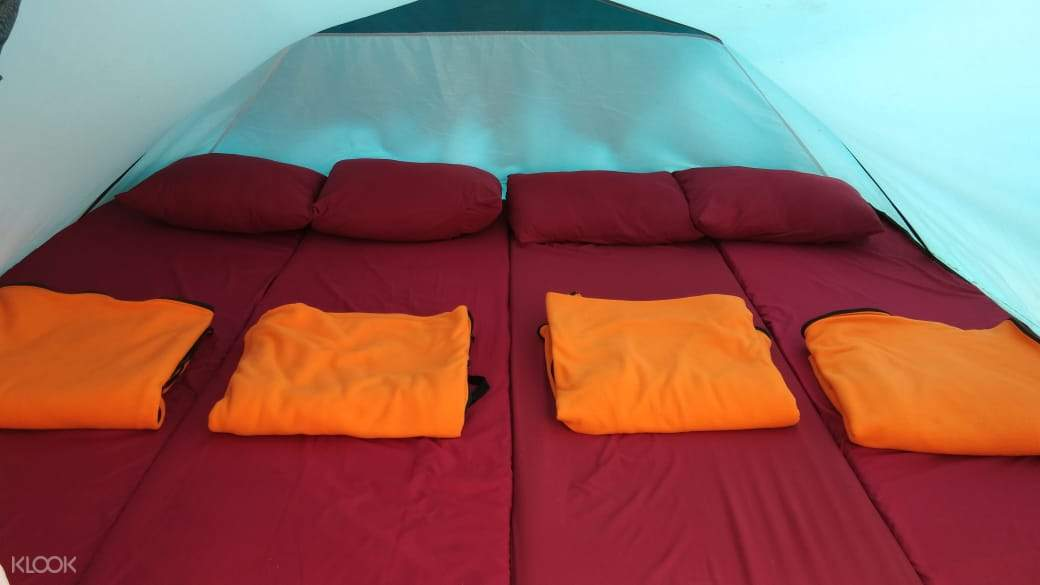2D1N Camping Experience in Sunrise Point Cukul Bandung