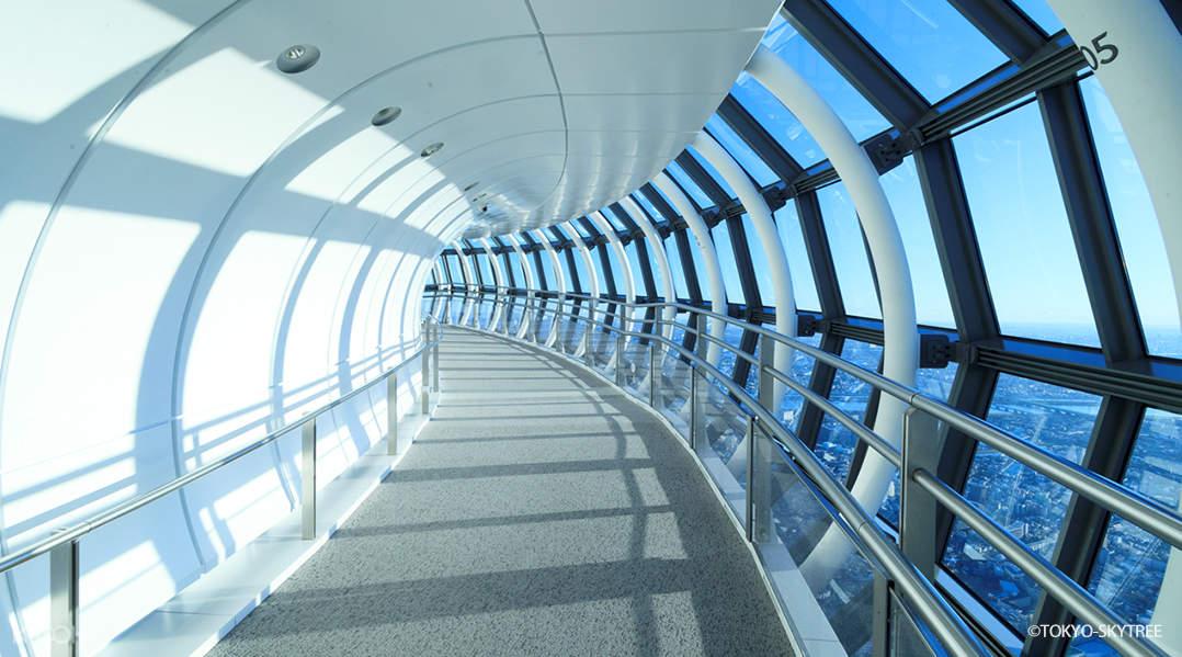 東京晴空塔天望迴廊