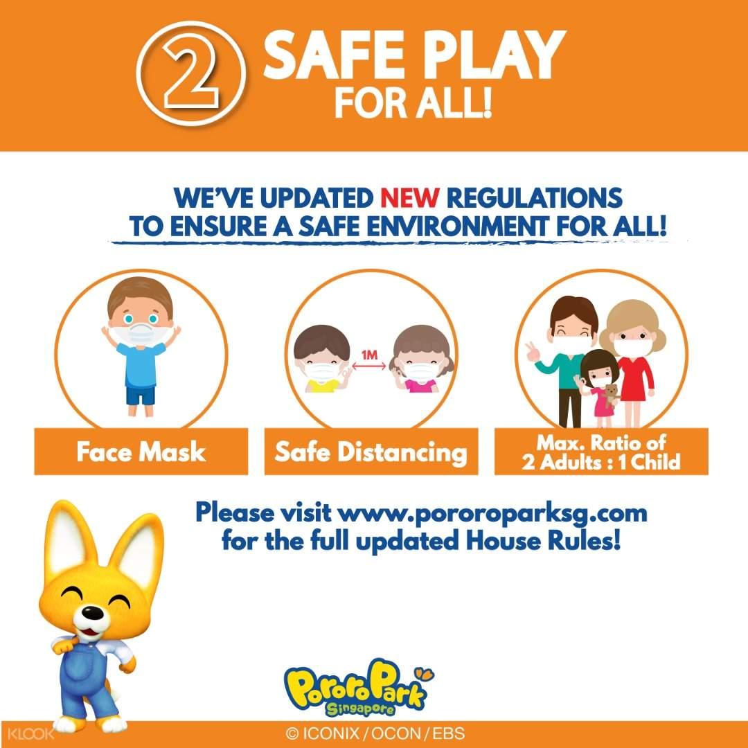 Pororo Park's Safe Management Measures
