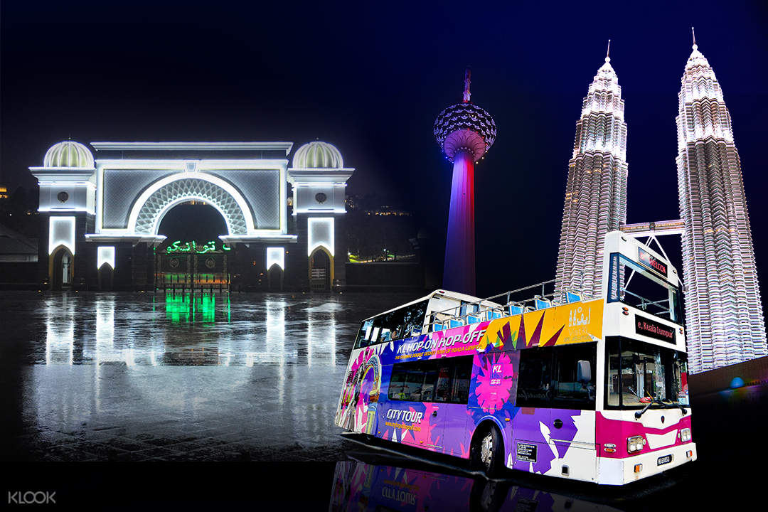 hop-on hop-off bus station in kuala lumpur