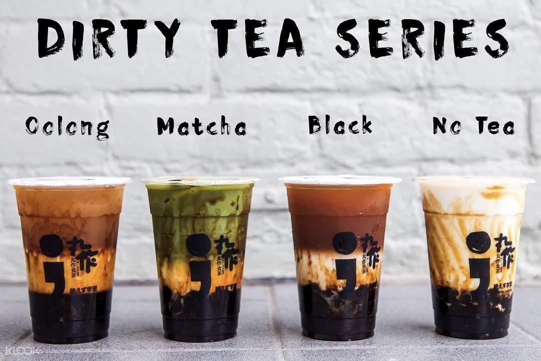 Dirty Tea Series at ONEZO in Taipei
